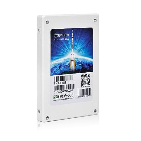 tcsunbow 8 GB pequeña capacidad SSD promoción 2,5 pulgadas SATA II ...