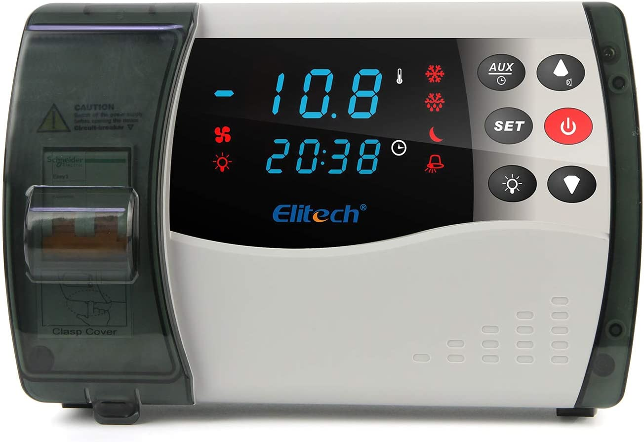 Elitech ECB-1000Plus Mehrzweck-Schaltschrank geeignet f/ür kleine und mittelgro/ße K/älteaufbewahrung 220 V