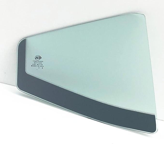 NAGD Compatible with 2015-2019 Hyundai Sonata 4 Door Sedan Passenger Right Side Front Door Window Glass