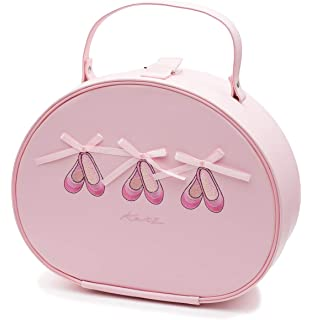 eb70cfb1f6c7 Girls Pink Ballet Tap I Love Dance Hand Vanity Case Bag By Katz ...