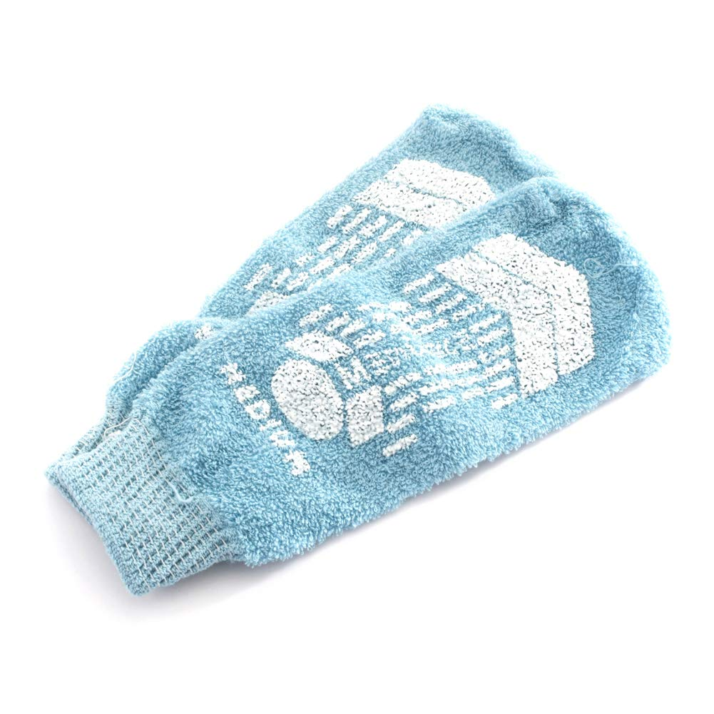 MediChoice Terry Cloth Slippers, Single Tread, Medium, Blue, 1314066601 (Case of 48 Pairs - 96 Total) by MediChoice