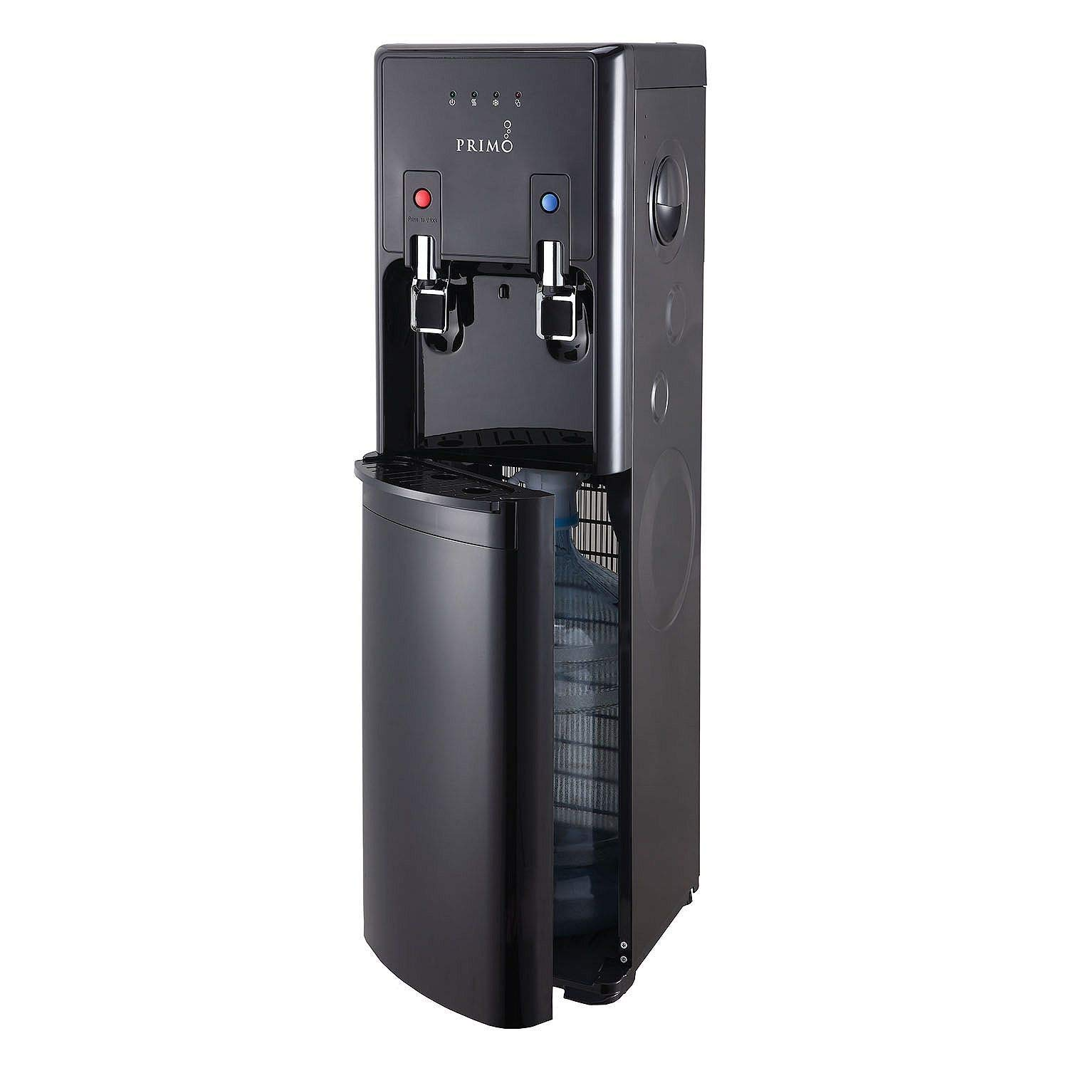 Primo 601213 Pro-Plus Bottom-Load Hot Cold Water Dispenser, Black
