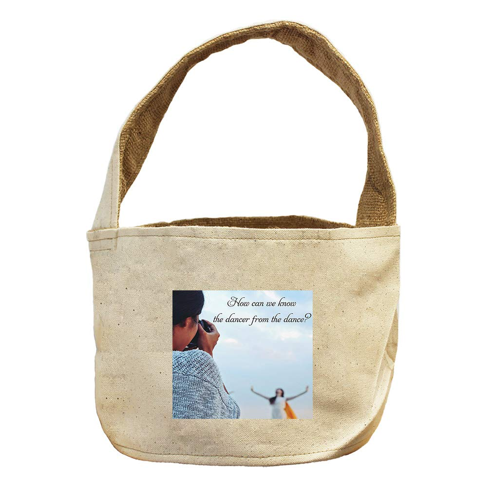 by What Expert Starting with Those Dance Canvas and Burlap Storage Basket
