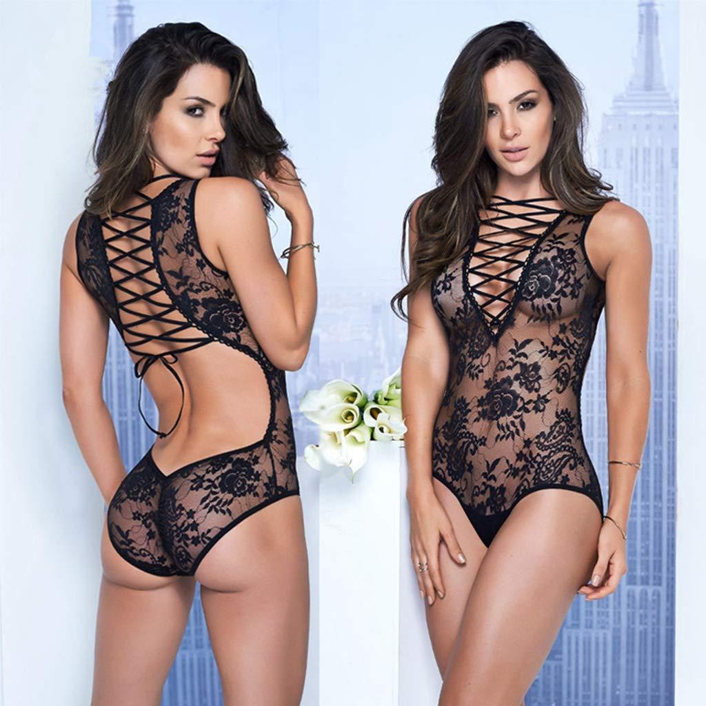 Amazon.com: Vestido de moda para mujer de porno caliente ...