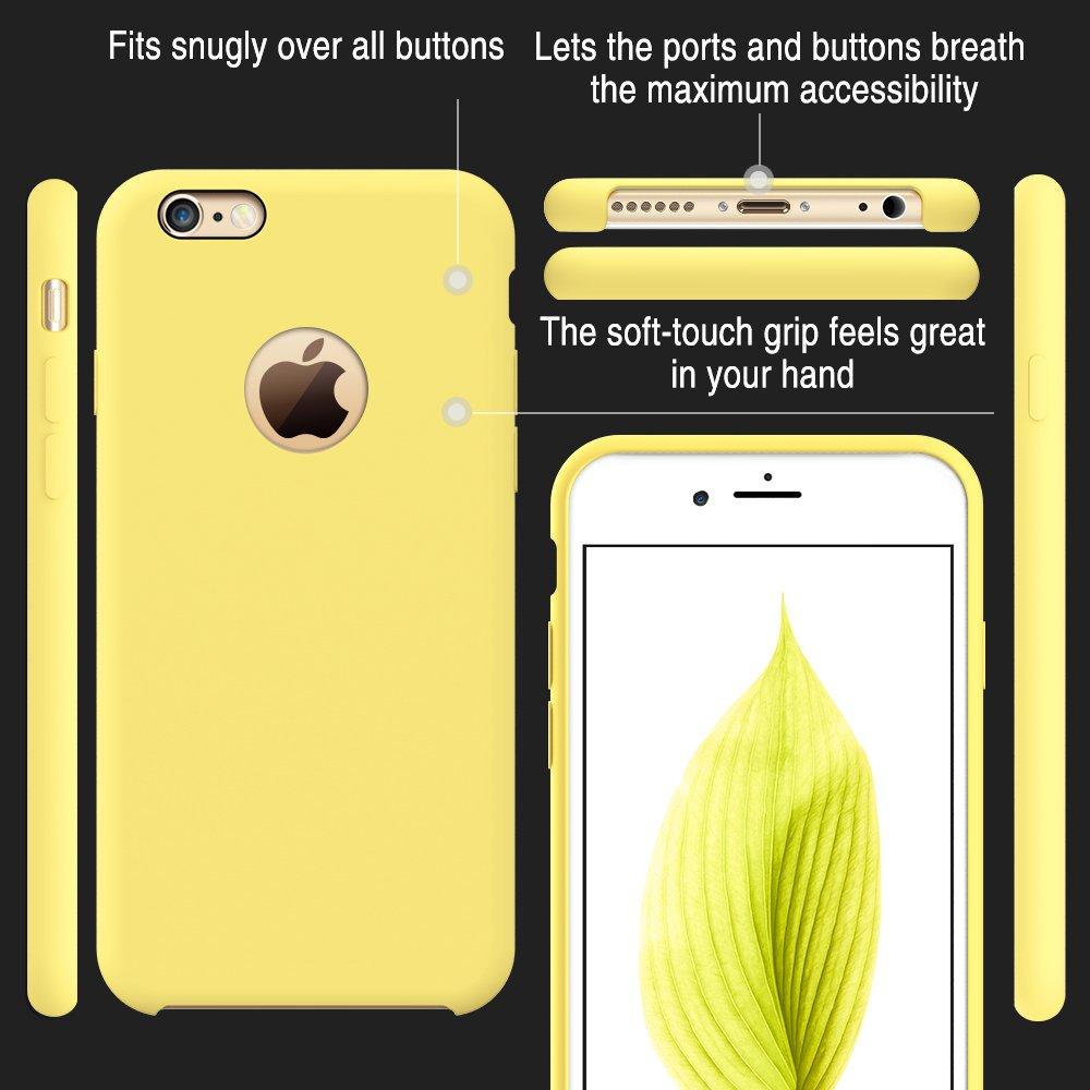 iphone 6 case liquid silicon