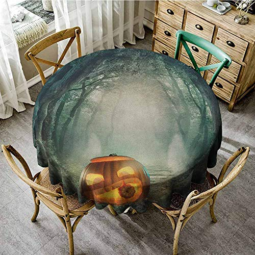 Round Tablecloth Waterproof 43