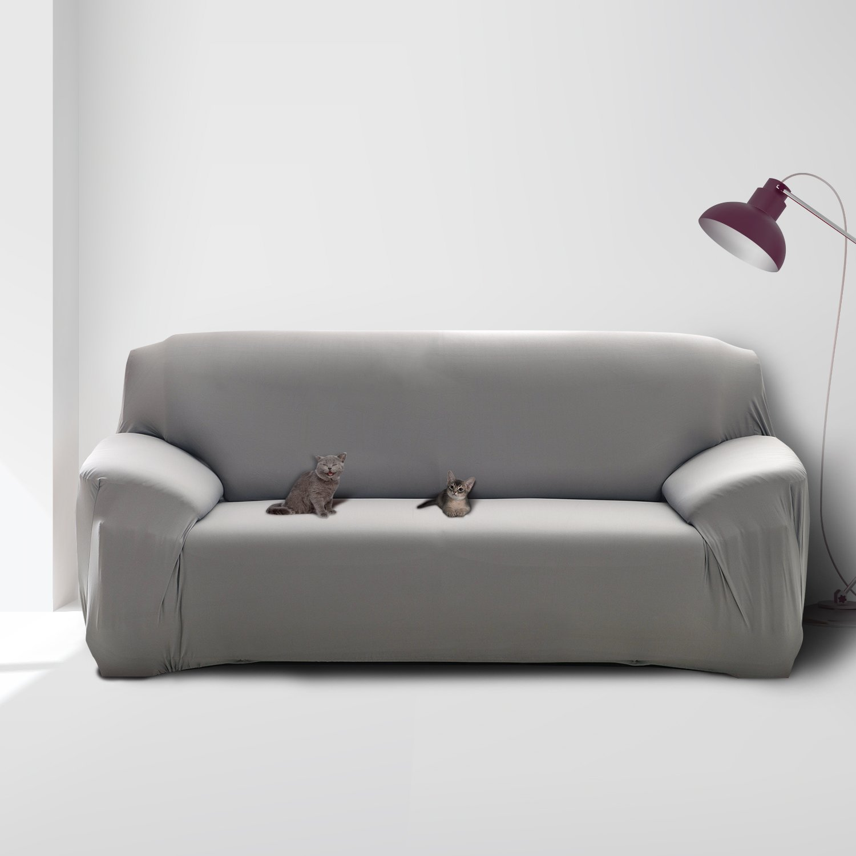 Amazoncom Mobo Grey Sofa Cover 1 Piece Slipcover For 57 72