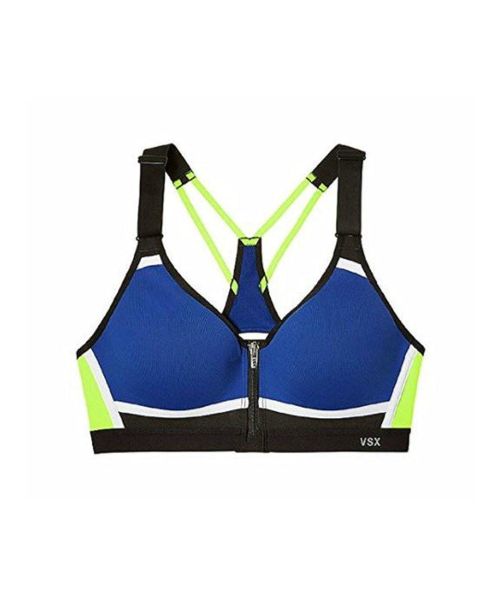 61e4e923dad11 Amazon.com  Victoria s Secret Incredible Sports Bra Front Close Colorblock   Clothing