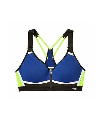 307b561428 Amazon.com  Victoria s Secret Incredible Sports Bra Front Close Colorblock   Clothing