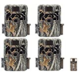 Browning Trail Cameras Four Dark Ops Extreme 16MP Game Cameras with Focus USB Card Reader