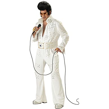 Elvis Rock Legend Plus Size Fancy Dress Costume Xxxl Amazon