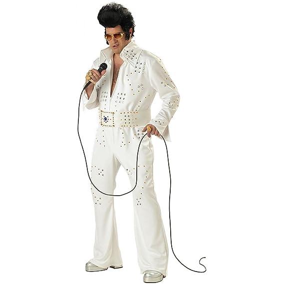 Elvis Rock Legend Plus Size Fancy Dress Costume Xxxl Amazon