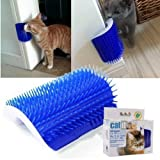 WYS Pet cat licker Corner Massage Brush Makes