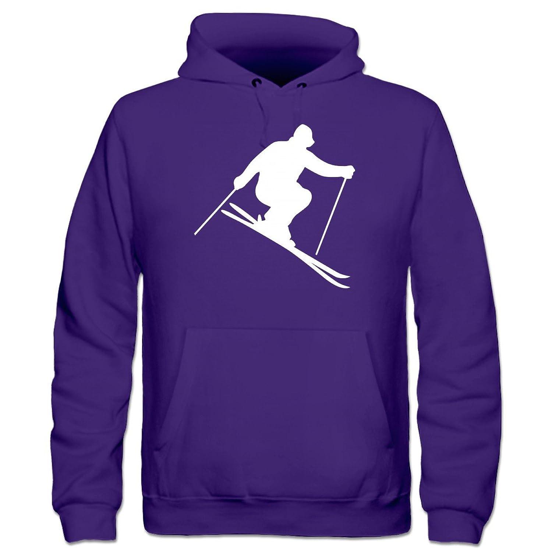 Ski Silhouette Kinder Kapuzenpulli by Shirtcity