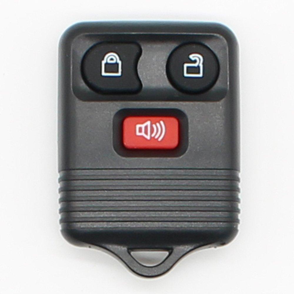 交換用車キー3ボタンフィット用フォードキーレスエントリリモートコントロールカーキーFobクリッカー送信機315 / 433mhz Exchange B07BZFJC5H