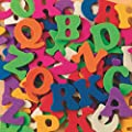 S&S Worldwide Color Splash! Foam Shapes with Adhesive - ABCs