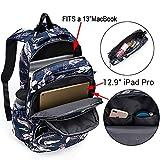 UTO Fashion Backpack Waterproof Nylon Rucksack