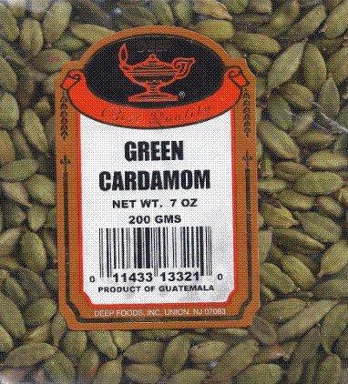 Green Cardamom 7oz by DEEP