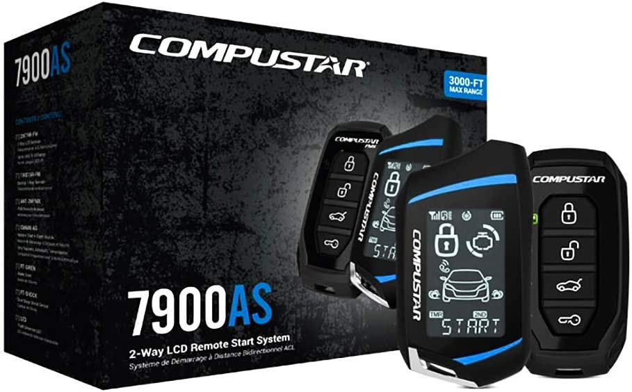 Compustar CS7900-AS All-in-One 2-Way Remote Start and Alarm Bundle