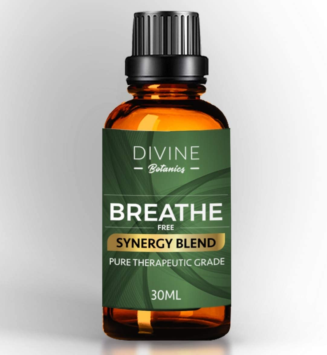 Divine Botanics Breathe Free
