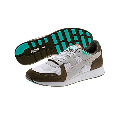 Puma Mens Rs 100 X Emory Jones Fabric Low Top Lace Up Trail