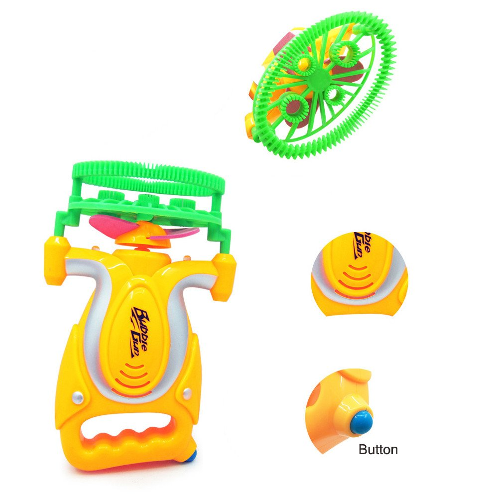 Weiliru Bubble Machine Automatic Bubble Maker with,Great Toy for Toddlers, Extra Gift of Children