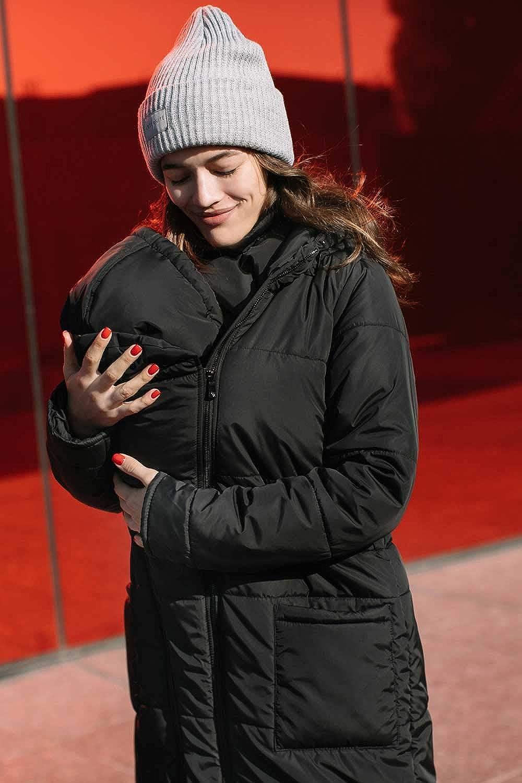 Wintermantel Umstandsmantel Love /& Carry 3-in1 Babytragemantel