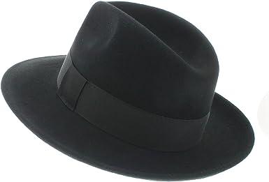 /p/étrus Votrechapeau/ /Sombrero fedora/ /fieltro plegable e impermeable/