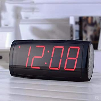 QMPZG-Despertador Reloj Led Reloj Digital Alarma Electronica Estudiante Dormitorio Silent Night Reloj Reloj Reloj Antiguo B: Amazon.es: Hogar