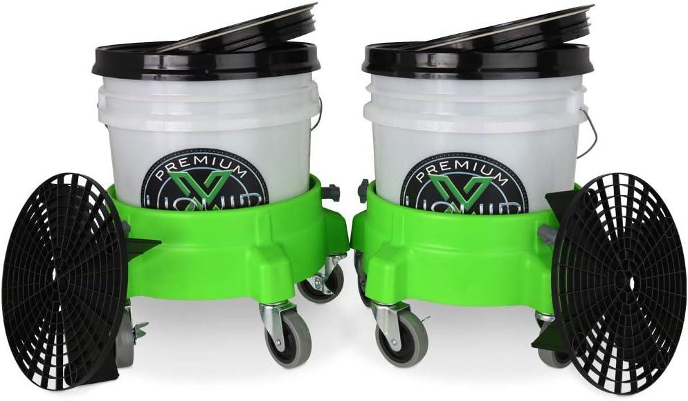 chlid gift 6cm DishyKooker Car Washing Bucket Insert Grit Trap Net yellow 26