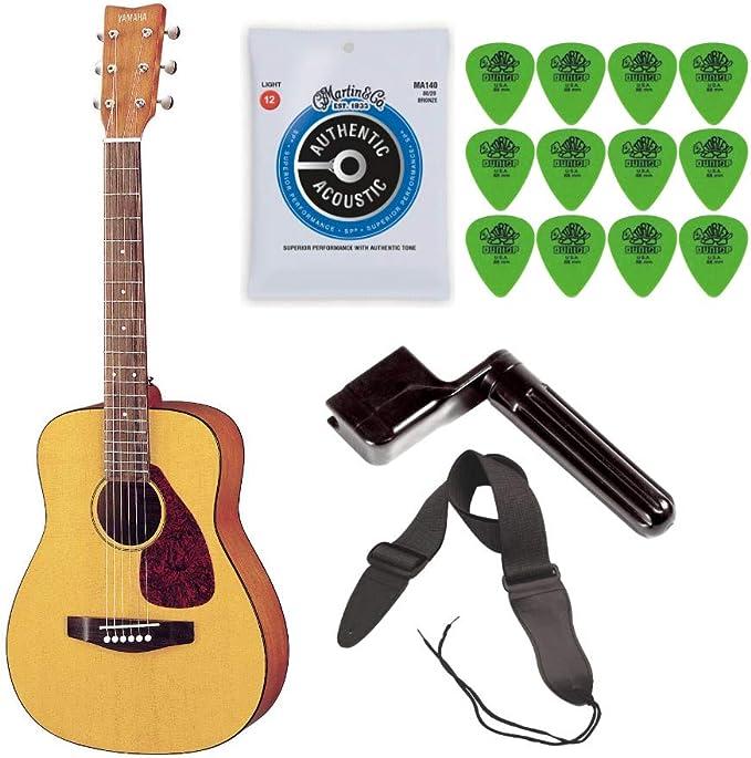 Yamaha JR1 Guitarra acústica con cuerdas de acero de tamaño 3/4 ...