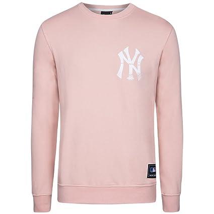 Majestic New York Yankees MLB Sudadera Crew mny2453fh, MNY2453FH, Small