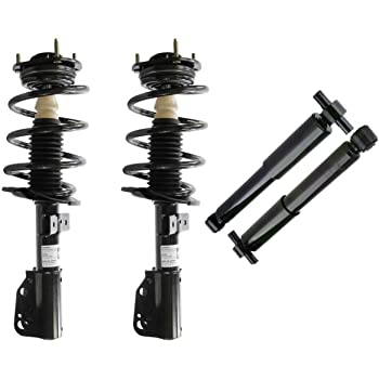 Sway Bar Links for 00-12 Impala No Police or Taxi Front 2 Front Driver /& Passenger Side Complete Strut /& Spring Assembly /& 00-07 Monte Carlo w//16 Wheels Not for 18 Wheels