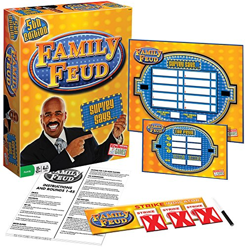 family feud board game answers - 7