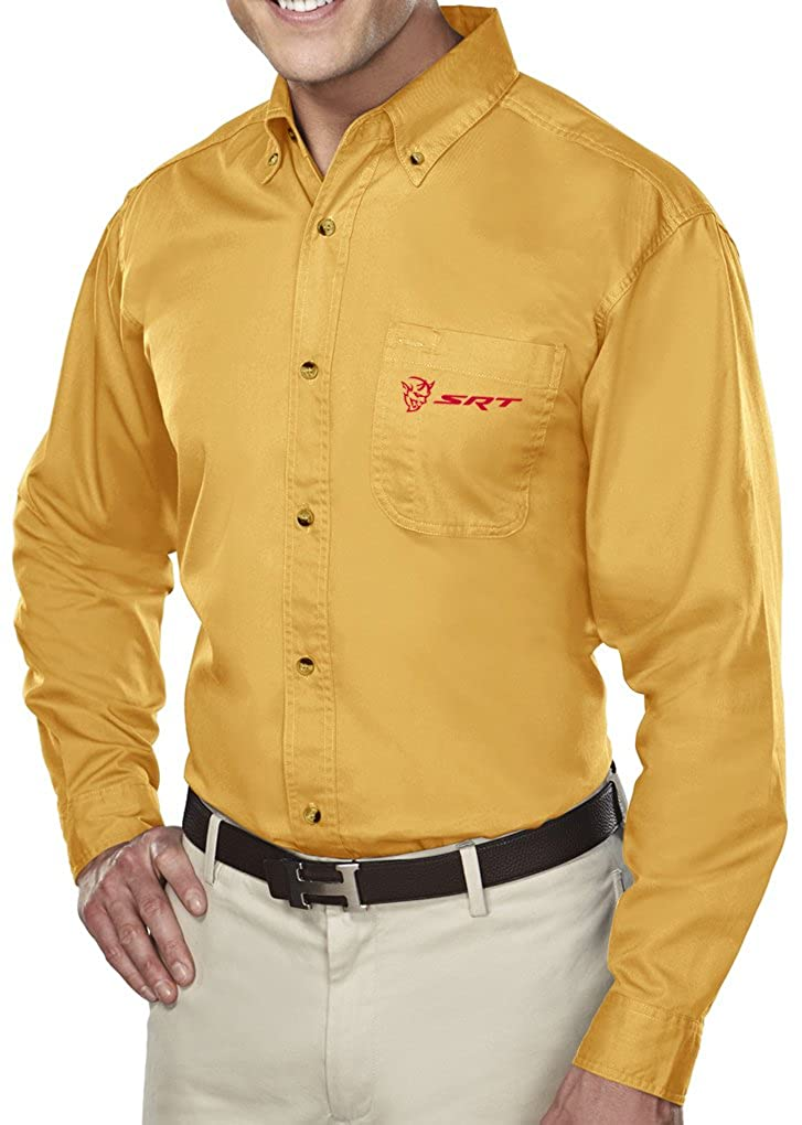 Mens Dodge Demon SRT Premium Twill Dress Shirt