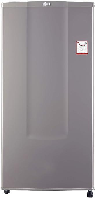 LG 185 L 1 Star Direct Cool Single Door Refrigerator  GL B181RD GB, Dim Grey, Fastest Ice Making