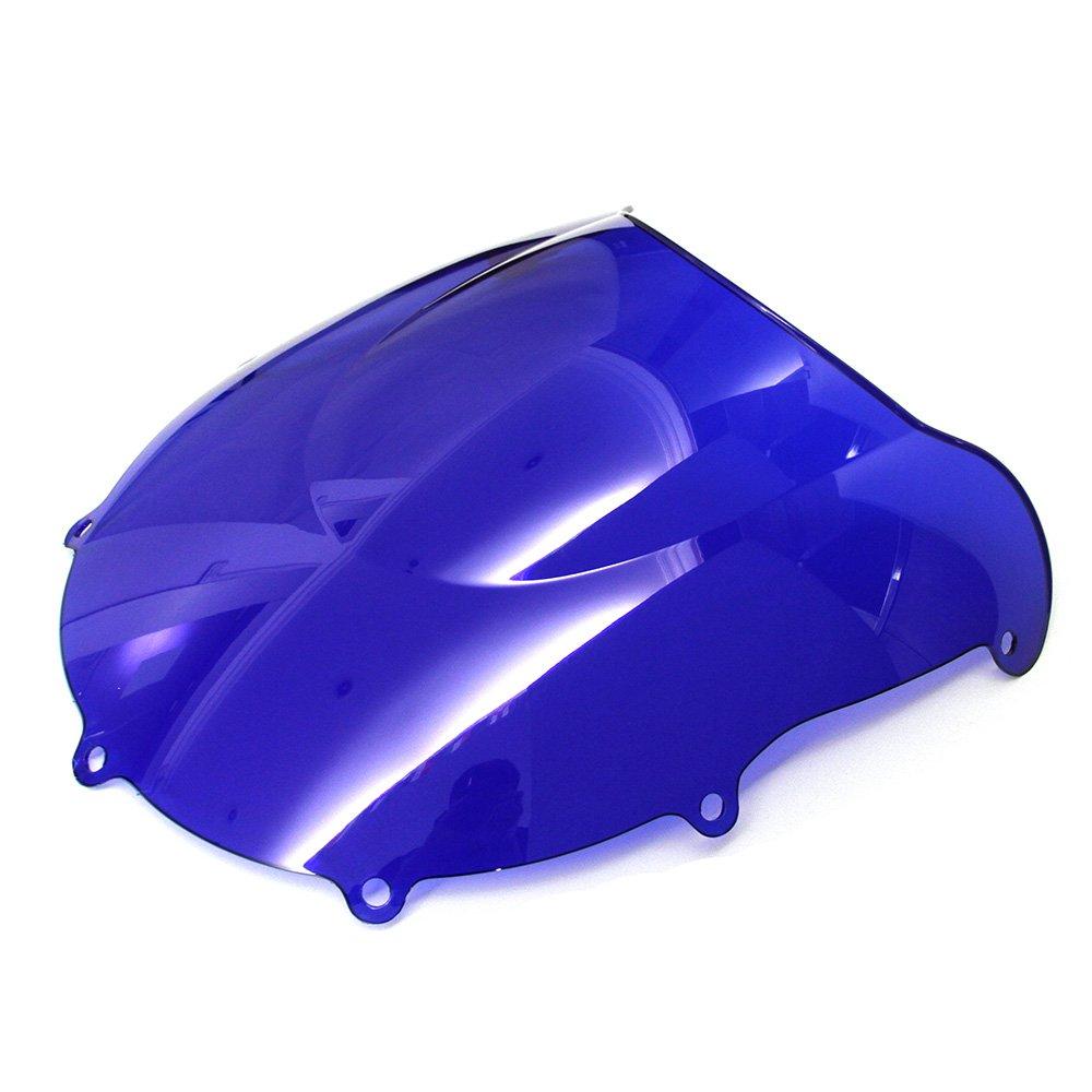 OyOCycle Windshield for Suzuki GSXR 1000 K7 2007 2008 GSXR1000 Double Bubble Windscreen Wind Deflector Wind Splitter
