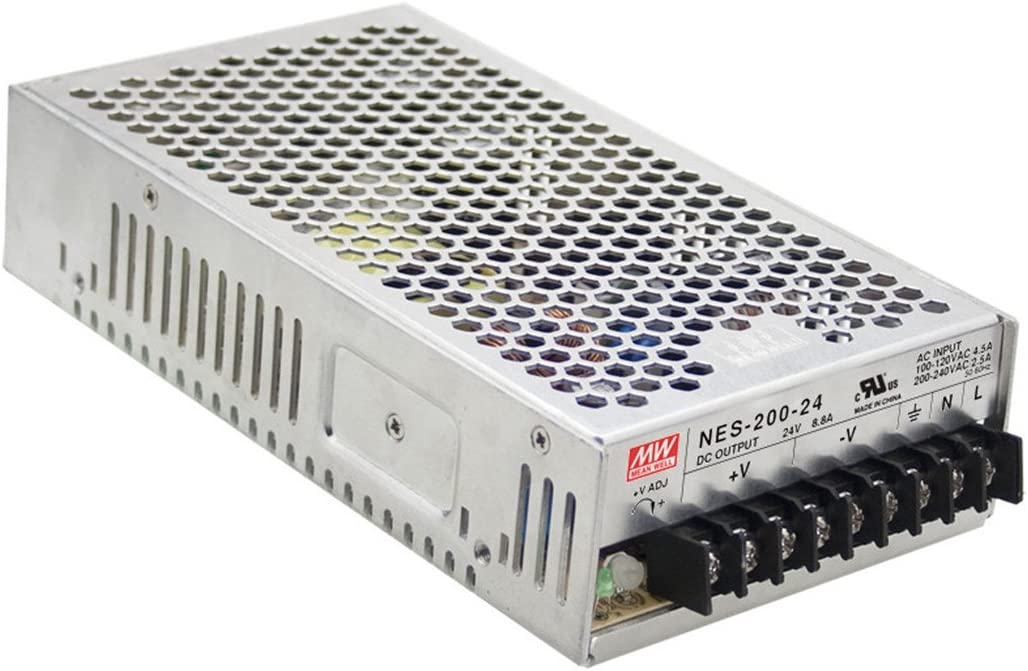 Mean Well Original NES-200-15 Single Output Switching Power Supply 15V 14A 210W