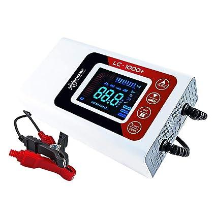 Loadchamp 12A automatisches Batterie Ladeger/ät AGM GEL CALCIUM Auto LKW Batterie 12V