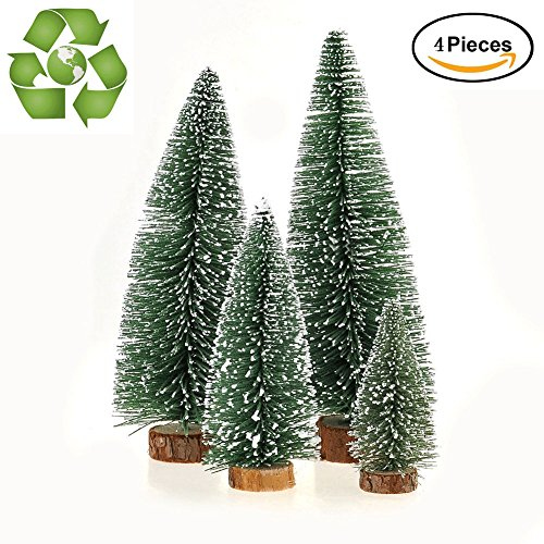 Desktop Miniature Pine Tree tabletop christmas tree small pine tree decor christmas tree toppers … (Christmas Trees Desktop)