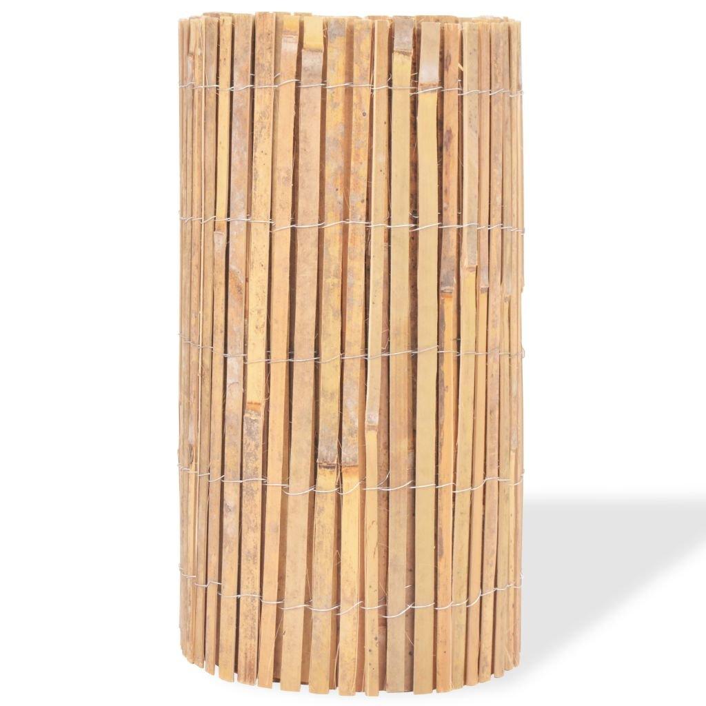 Mewmewcat Bambus Dekorativer Gartenzaun Bambuszaun Gartendekor