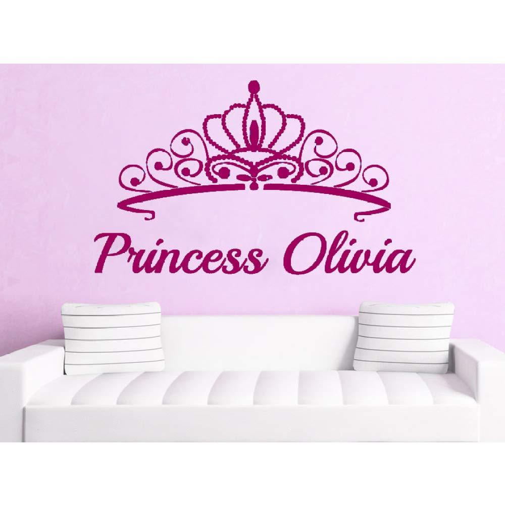 Tatuajes de pared Vinilo Decoración de la habitación Princesa ...