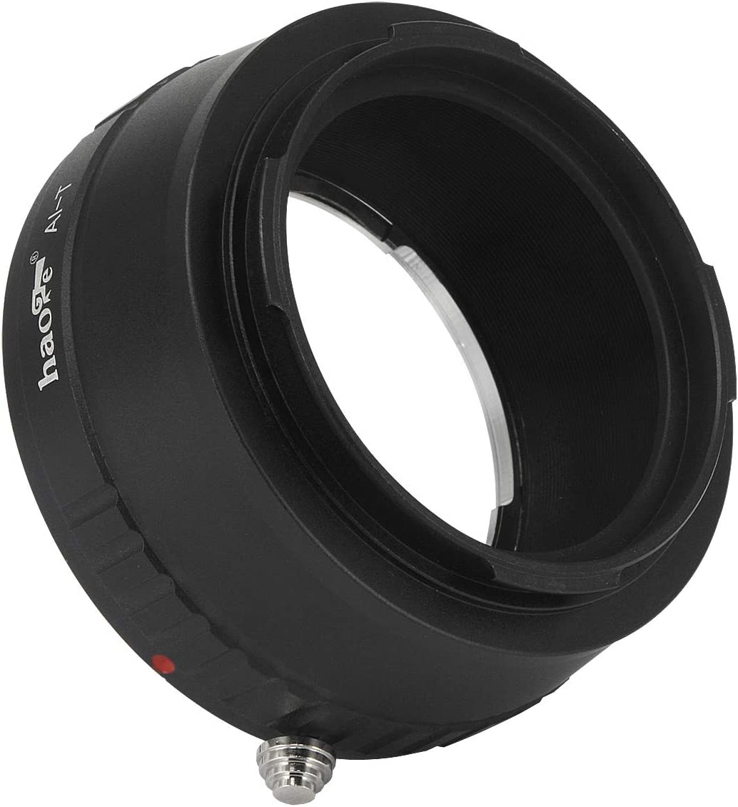 Typ601 Typ 701 Panasonic S1 // S1R TL Typ 601 2017 SL Haoge Manual Lens Mount Adapter for Nikon Nikkor F//AI//AIS//D Lens to Leica L Mount Camera Such as T TL2 Typ701 CL