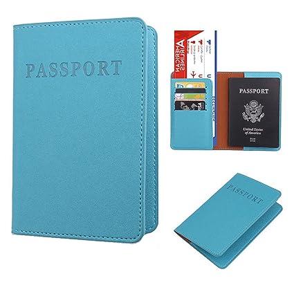 Sannysis Funda Pasaporte Viaje, Pasaporte Cartera Organizador Pasaporte Juguete Protector Organizador de Viaje dedicado Estuche
