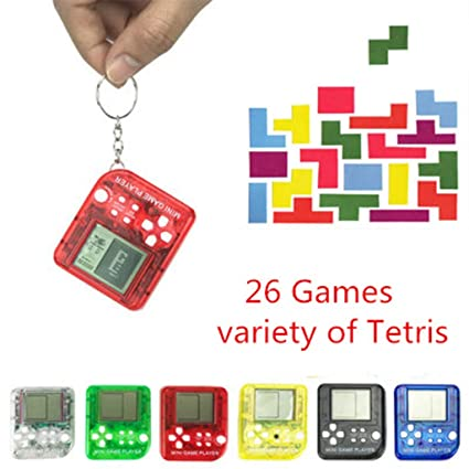 Amazon com: Cicitop Mini Classic Game Tetris Electronic Cyber