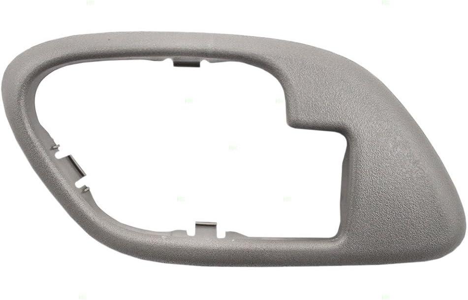 New Pair Inside Door Handle Trim Bezel Chrome 95-99 Chevy GMC Pickup Tahoe Yukon