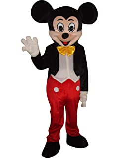 Mickey Mouse Mascot Costume Fancy dance Adult Size Suit Animal Costume set