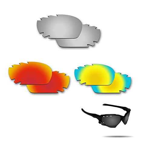 aa1659d01ab Image Unavailable. Image not available for. Color  Fiskr Anti-Saltwater Polarized  Replacement Lenses for Oakley Jawbone Vented ...