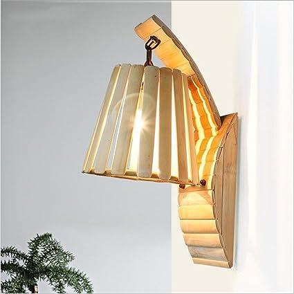Amazon Com Fei Wall Lamp Wall Lights Design Of Wood Bamboo