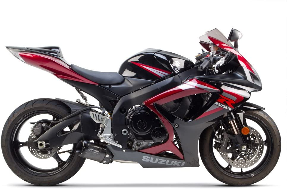 005-1470406V2-B Two Brothers Racing Black Series M-2 Aluminum Canister Slip-On Exhaust System